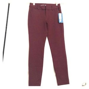 Maroon Pixie Built-in Sculpt Pants